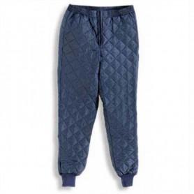 Sottopantalone blu termico in nylon trapuntato antistrappo Uomo Tempex