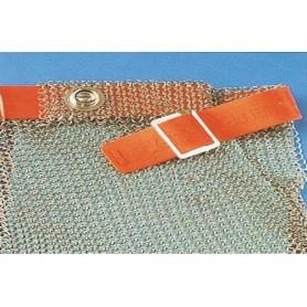 Ricambio cinturino per Guanto Euroflex inox 5 dita corto