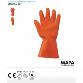 Guanto / guanti in lattice naturale Harpon 321