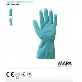 Guanto/guanti in lattice sintetico Optimo 454 Nw Neri