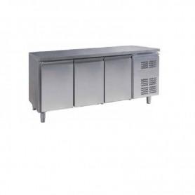 Tavolo in acciaio inox refrigerato 3 vani